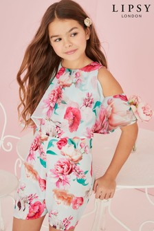Lipsy Girl Cold Shoulder Playsuit
