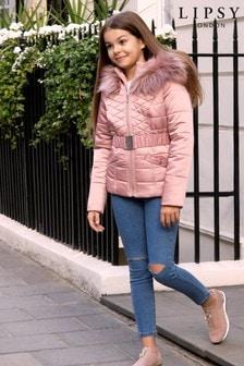 Prešívaná bundas opaskom Lipsy Girl