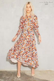 Sukienka maxi Never Fully Dressed Blossom