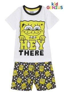 Kids Genius Boys Spongebob Square Pants Pyjama Set