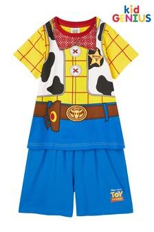 Pijama con pantalones cortos y diseño de Woody de Toy Story de Kids Genius