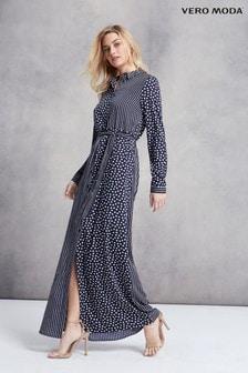 Vero Moda襯衫造型長洋裝