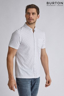 Burton Geometric Print Pique Shirt