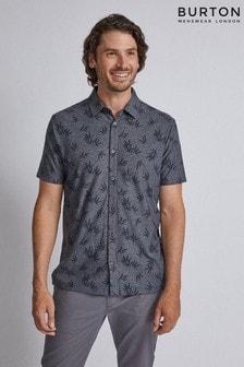 Burton Bamboo Print Pique Shirt
