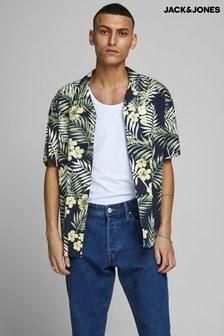 Jack & Jones Tropical Print Shirt