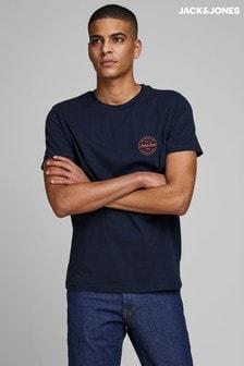 Camiseta con logo pequeño de Jack & Jones
