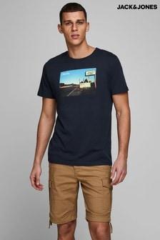 Camiseta de manga corta con cuello redondo de Jack & Jones