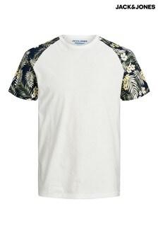 Camiseta de manga corta raglán de Jack & Jones