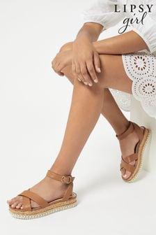 Lipsy Flatform Studded Sandal (Older)