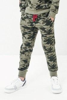 Pantalones de chándal con diseño de camuflaje de Threadboys
