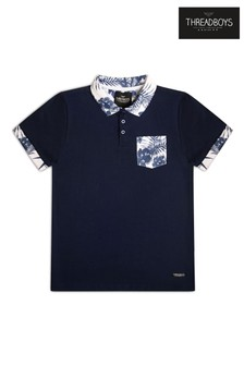 Threadboys Printed Polo T-Shirt