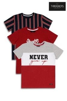Threadboys Printed T-Shirt Pack Of 3