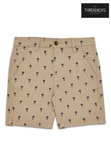 Threadboys - Shorts chino con stampa