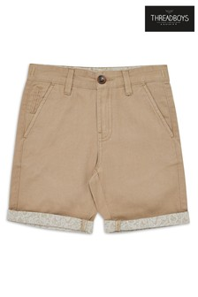 Threadboys Printed Chino Shorts