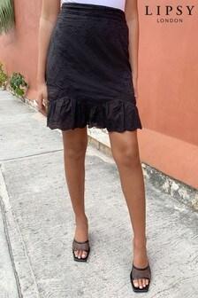 Lipsy Broderie Rara Skirt