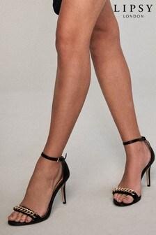 Lipsy Chain Minimal Heeled Sandal