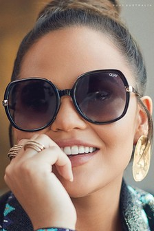 Quay Australia Gold Dust Sunglasses