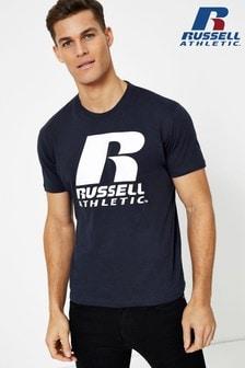 Russell Athletic T-Shirt mit Rundhalsausschnitt