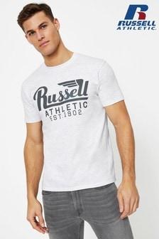 Russell Athletic T-Shirt mit Flügel-Logo