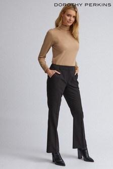 מכנסיים בגזרה מתרחבת של Dorothy Perkins