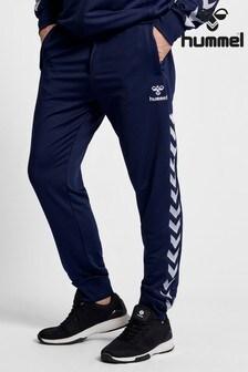 Pantalones clásicos con detalles de chevron de Hummel