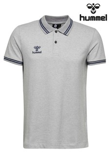 Camiseta tipo polo clásica de Hummel