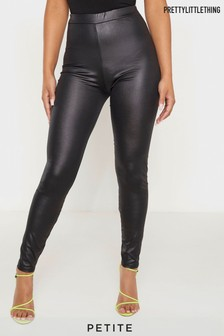 PrettyLittleThing Petite PU Fitted Legging