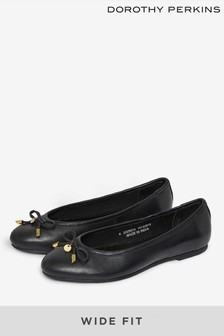Dorothy Perkins Paige Lederpumps in weiter Passform