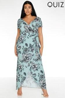 Quiz Wrap Maxi Dress