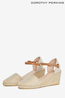 Dorothy Perkins Wide Rose 2 Part Espadrille Sandal