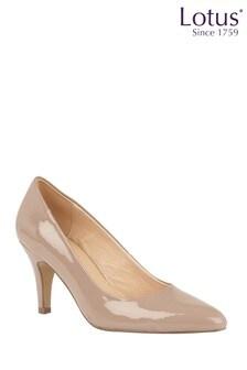 Lotus Patent Court Shoes