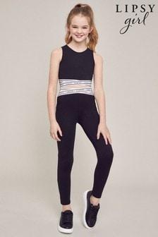 Lipsy Girl Crop Top And Legging Set
