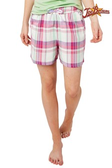 Joe Browns 	Mix And Match Check Pyjama Shorts