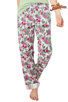 Pantaloni de pijama Joe Browns Mix And Match cu model floral
