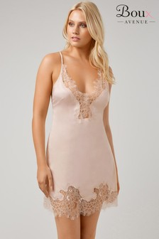 Boux Avenue Satin Cut Out Lace Cami Set