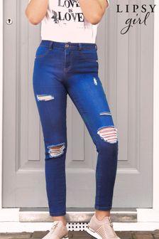 Lipsy Mega Jeans mit Rissen
