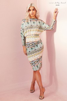 Never Fully Dressed Aztec Cleo Dress