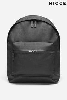 Nicce帶筆袋和中央拉鍊標誌背包