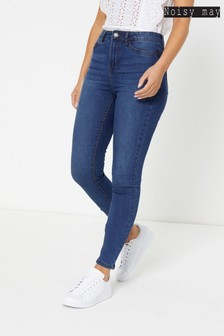 Noisy May High Waist Skinny Jeans
