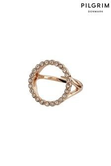 טבעת קריסטל של Pilgrim דגם Malin ניתנת להתאמה