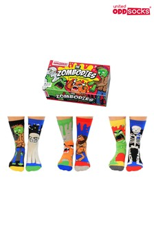 Sock Academy Childrens Zombodies Zombie Sock Gift Box