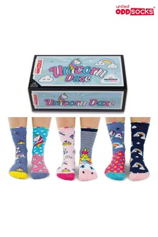 Sock Academy Childrens Unicorn Daze Sock Gift Box