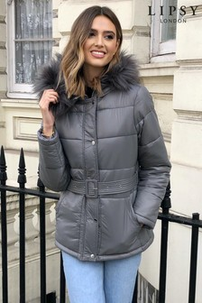 Lipsy Belted Padded Jacket