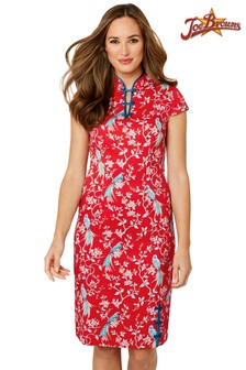 Joe Browns Elegant Mandarin Collar Dress