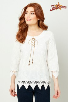 Joe Browns Lover's Lace Top