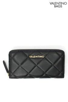 Valentino by Mario Valentino Quilted Zip Around Purse