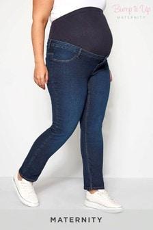 Bump It Up Jeans mit geradem Beinschnitt (Umstandsmode)