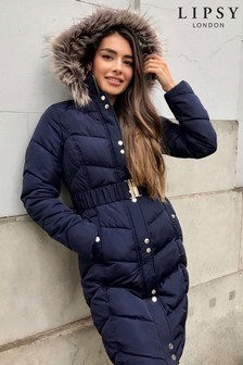 Lipsy Long Line Padded Jacket