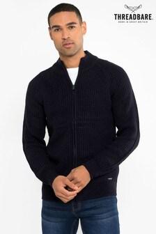 Threadbare Zip Through Cardigan