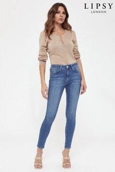 Blugi Lipsy Kim cu talie medie și lungime standard